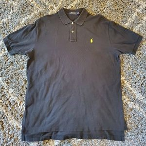 Polo Ralph Lauren Men's XL Black Polo Shirt